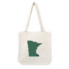 Minnesota tote bags for unique bridesmaid gifts