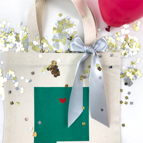 confetti welcome bags