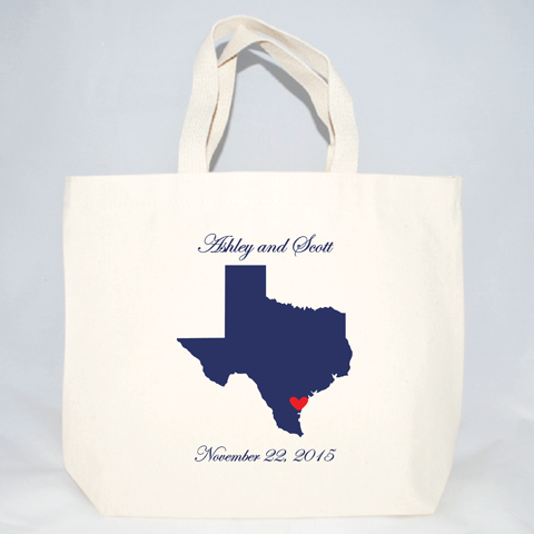 texas wedding welcome event bags