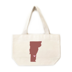 Vermont personalized wedding welcome totes bags