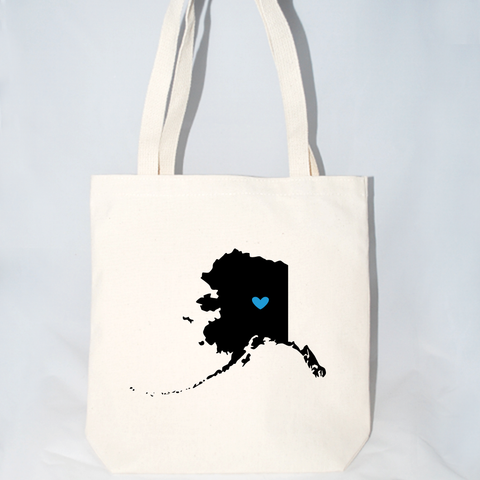 Alaska wedding welcome totes for destination weddings