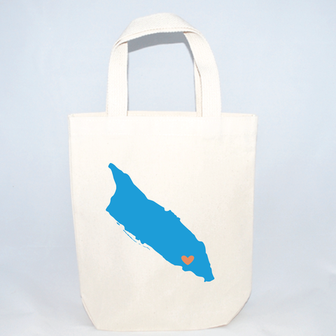 beach wedding tote bags