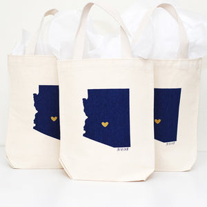 Arizona wedding welcome gift bags