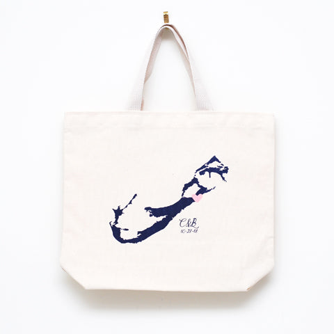 Bermuda Destination Wedding Bags - Medium