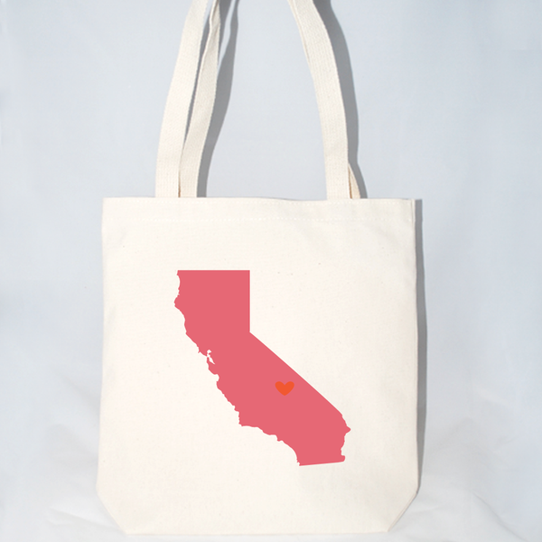 California large tote bags for wedding favors.