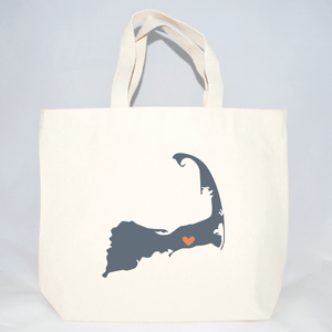 cape cod medium totes for wedding welcome bags
