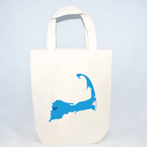cape cod small totes for weddings and events