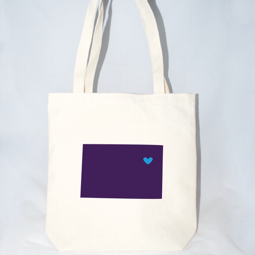 Large Colorado tote bags for wedding welcomes