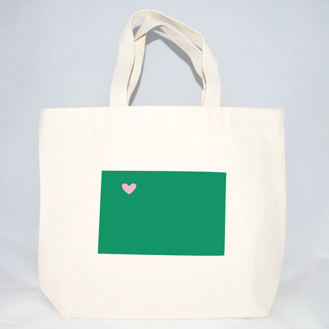 Colorado medium tote bags