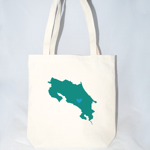 large costa rica totes for destination weddings