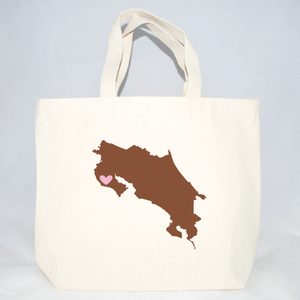 costa rica medium totes for wedding welcome bags