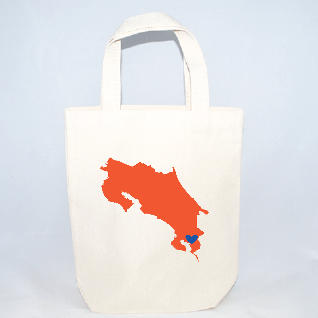 costa rica small totes for destination wedding welcome bags