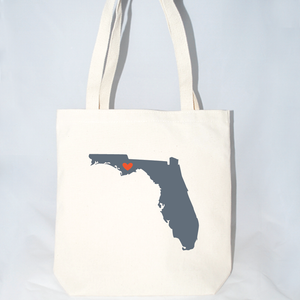 Large Florida tote bags for weddings
