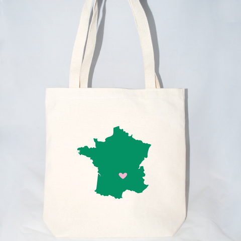 france welcome bags size large
