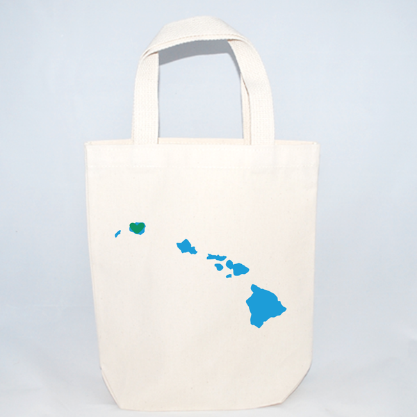 Hawaii small tote bags for destination weddings in Maui, Kauai, Honolulu, etc.
