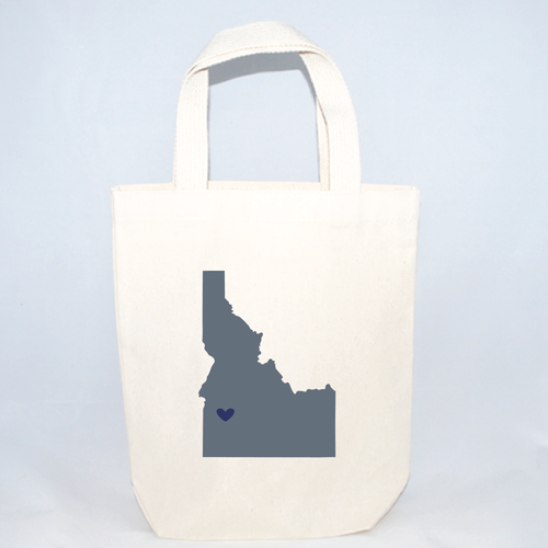 Idaho small totes for weddings and events