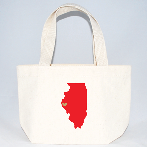 Illinois xs tote bags for weddings