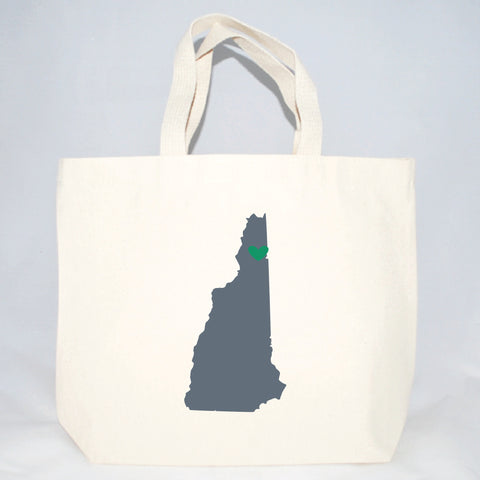 New Hampshire tote bags