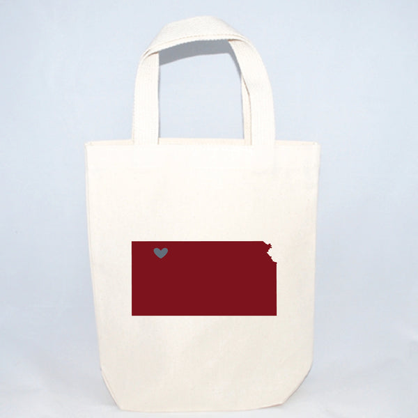 Kansas small tote bags