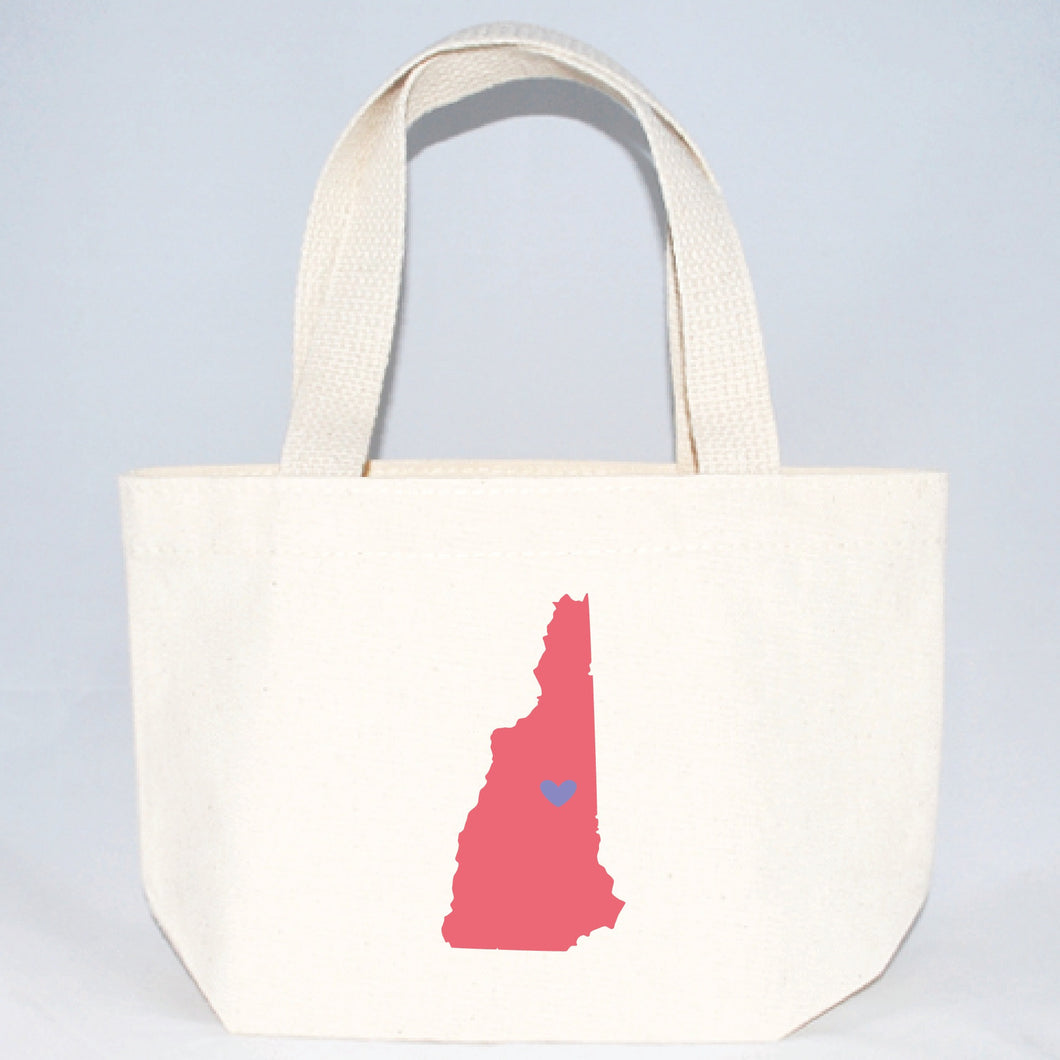 New Hampshire tote bags for hotel welcome gifts