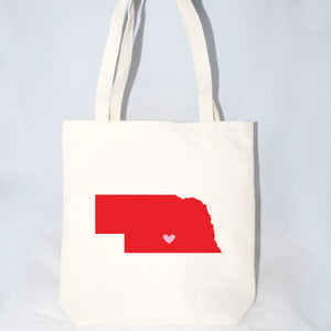 Nebraska large tote bags for weddings and events