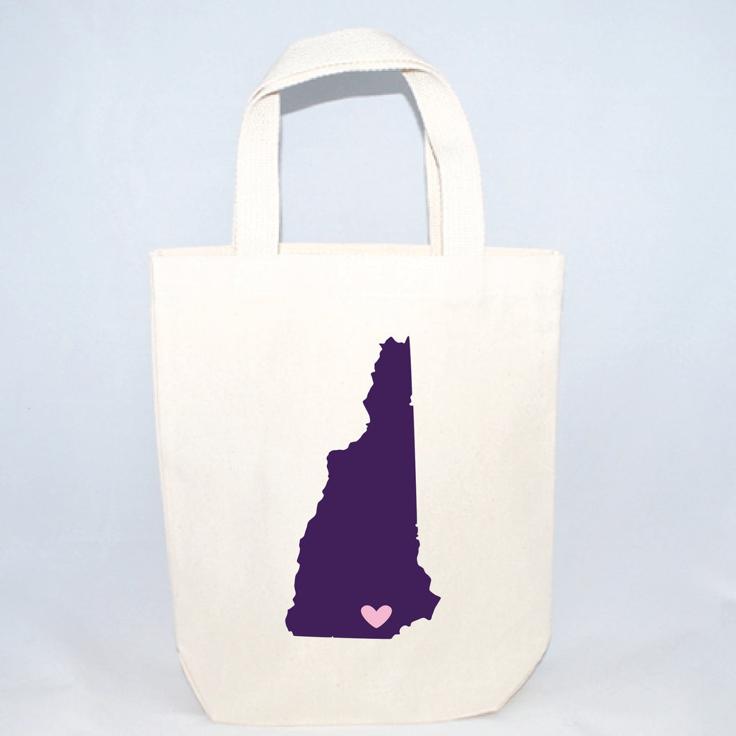 small new hampshire wedding totes