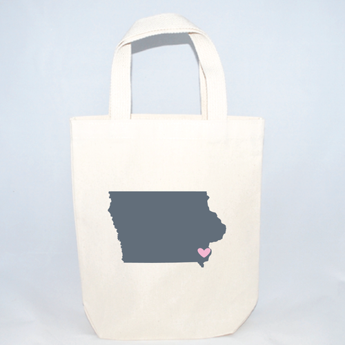 Iowa small tote bags for weddings