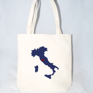 Large Italy shoulder tote for out of town event guests
