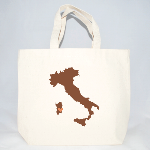 Medium Italy totes for weddings and events