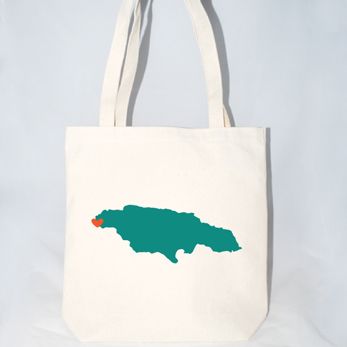 large jamaica wedding welcome totes