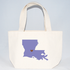 Louisiana wedding welcome tote bags