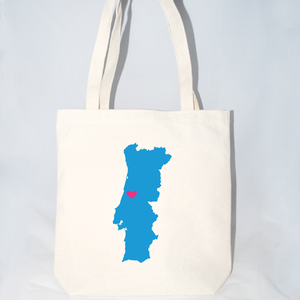 portugal destination welcome tote bags