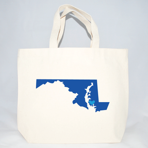 Medium Maryland tote bags for weddings guests