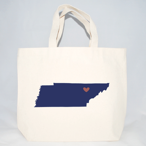 Medium Tennessee tote bags