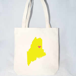 Maine bulk tote bags size large.