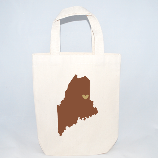 Maine wedding welcome bags