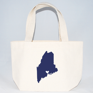 XS tote bags for Maine events, parties, weddings