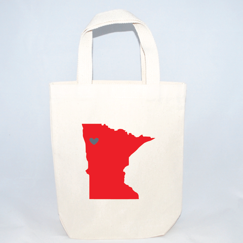 Minnesota small tote bags for weddings