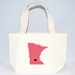 Minnesota XS tote bag for weddings