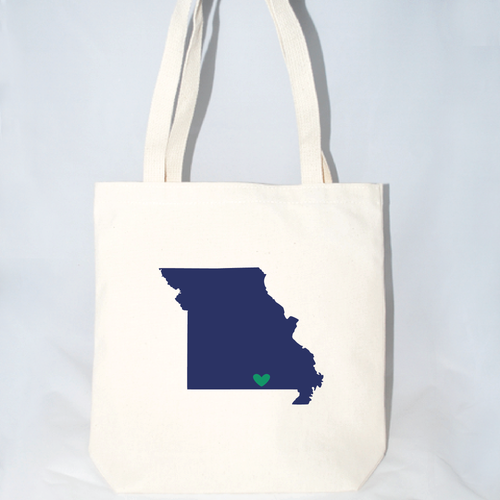 large missouri tote bags for welcome gifts