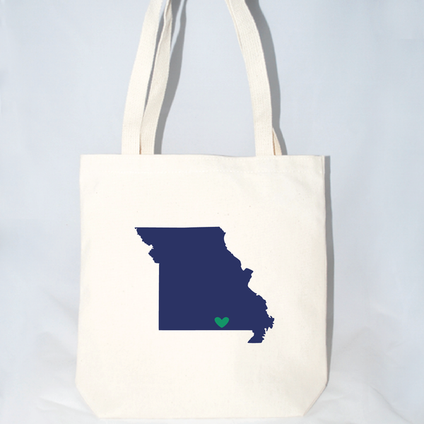 large missouri tote bags