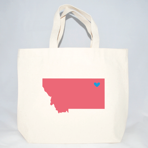 montana medium tote bags for event welcome gifts