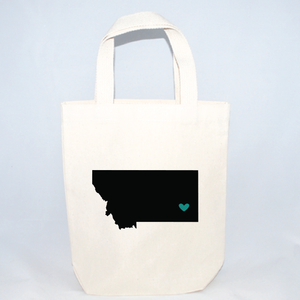 small montana tote bag for hotel gift bags
