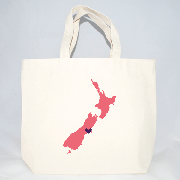 New Zealand medium tote bags