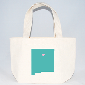 New Mexico wedding welcome tote bags for hotel guests.