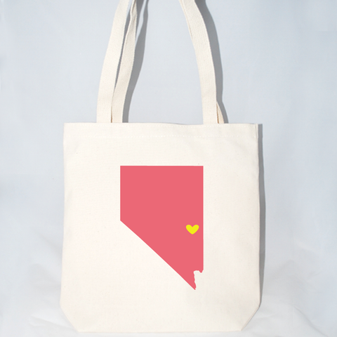 Large bulk quantity Nevada customizable tote bags