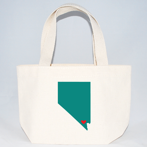 Nevada welcome tote bags for weddings and events