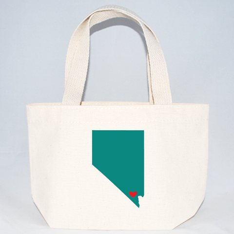 Nevada welcome tote bags