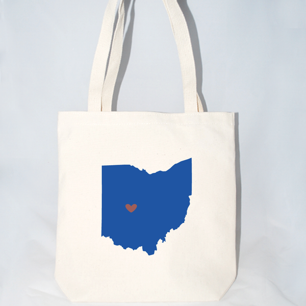 Ohio wedding welcome bags for out of town guests.