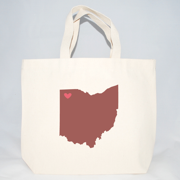 Ohio bags for weddings, events, market, shopping, etc.